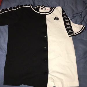 Kappa button down shirt